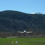 Despegando con el Tecnam P-96